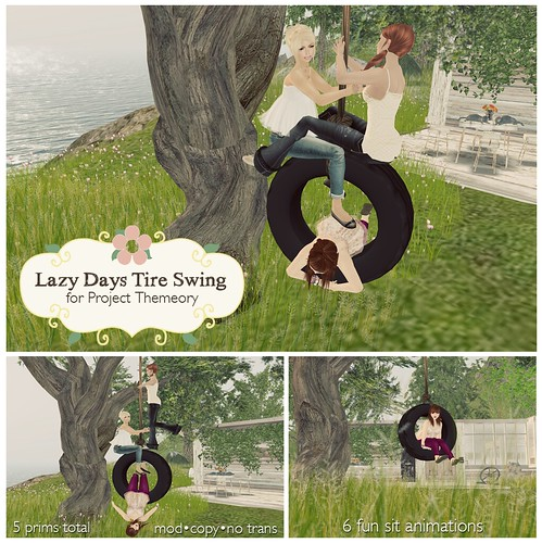 Lazy Days Tire Swing for Project Themeory