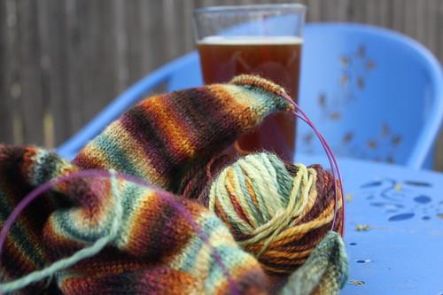 socks and beer