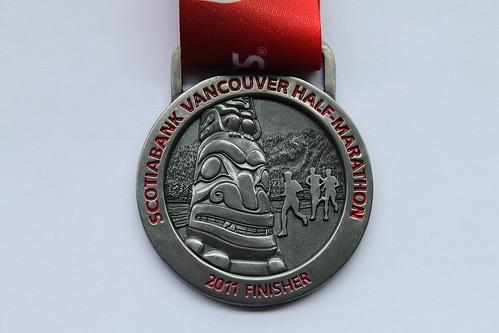 Scotiabank Vancouver Half Marathon 2011