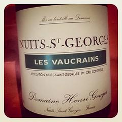Nuits-St-Georges Les Vaucrains 2001, Domaine Henri Gouges