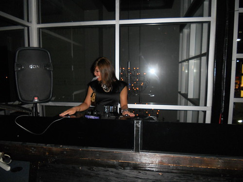 Me in the DJ booth!