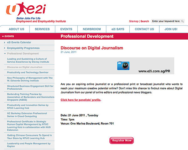 Discourse on Digital Journalism