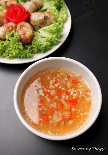 Nước chấm nem rán (Dipping sauce for Vietnamese spring rolls)