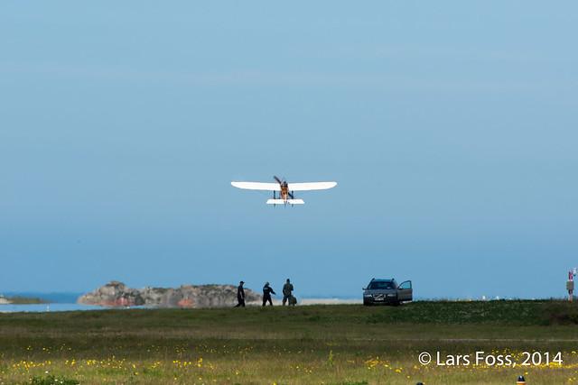 Bleriot XI take-off