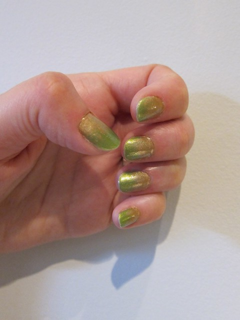 First Green is Gold Nails