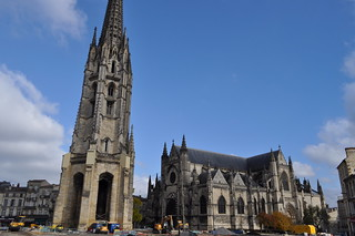 Basilique Saint-Michel (XIVe-XVIe), Bordeaux, ...