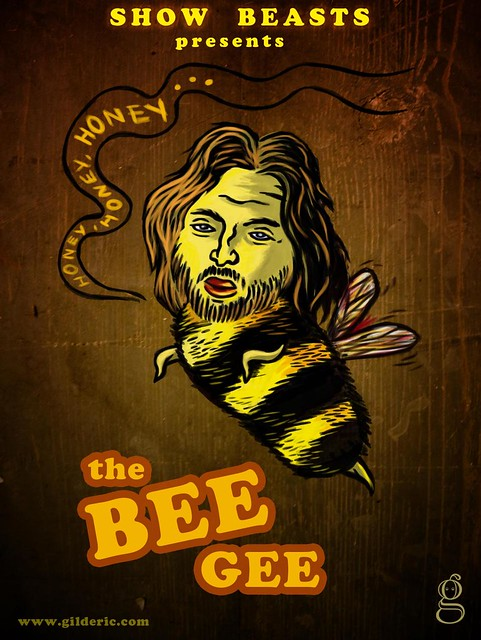 Show Beasts : The Bee Gee (illustration par Gilderic)