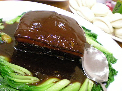 Braised pork with mantao