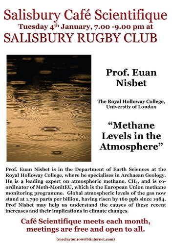 Poster for Prof. Euan Nisbet