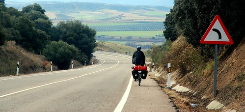 Cruising Down Hills In Spain