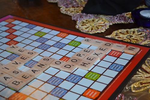 Scrabble was cut throat!