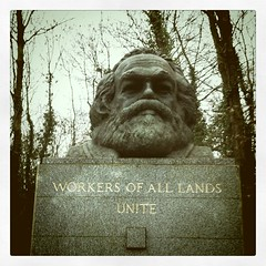 Karl Marx's grave, motherfuckers!