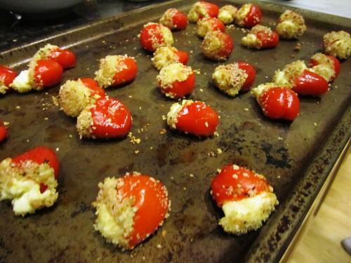 Goat Cheese-Stuffed Pepperdeaux