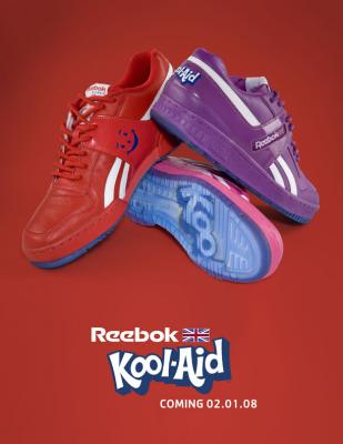Reebok Kool-Aid shoes