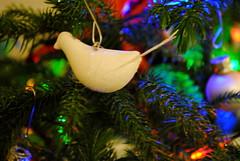 Glittery Christmas Birds