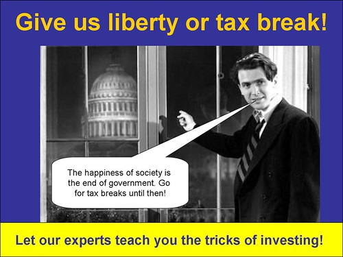 Give us a tax break