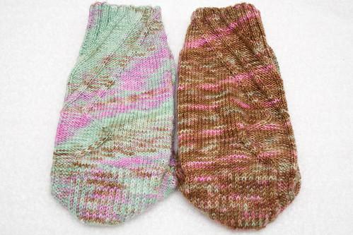 OA Mystery Socks (Back)