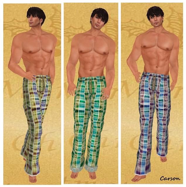 WoE Kylie Pajamas Yellow Maroon and Green (2)
