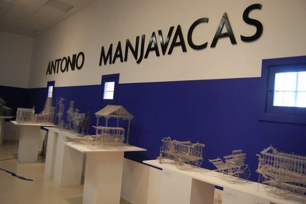 Maquetas de alambre de Antonio Manjavacas