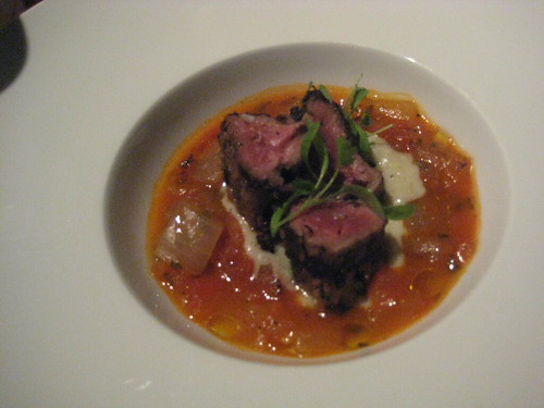 Grilled Wild Boar Tenderloin @ Jiko, Animal Kingdom Lodge