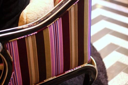 upholstered, fancy