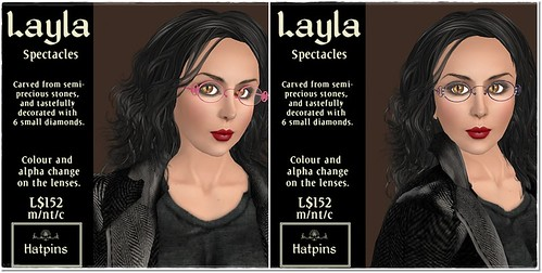 Hatpins - Layla Spectacles