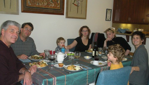 Around the Thanksgiving table