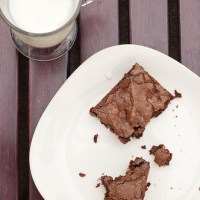 Deep Chocolate Brownies for Big Boys