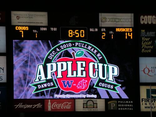 Apple Cup Scoreboard