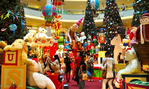 Christmas Decorations @ Mid Valley Megamall (2)