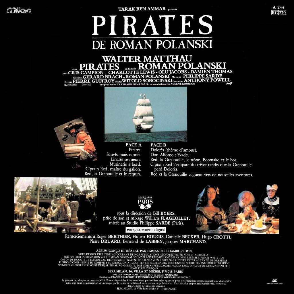 Philippe Sarde - Pirates