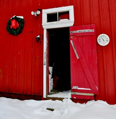Barn Thermometer