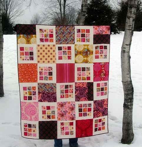 Innocent Crush Quilt Finished!