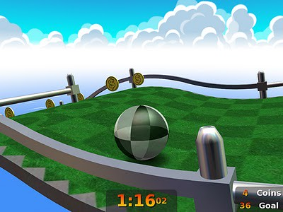 neverball-top-addictive-Linux-games