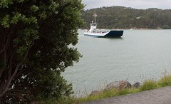 Ferry in Bay Of Islands, New Zealand