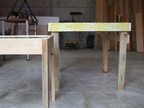 A minhas mesas / My tables
