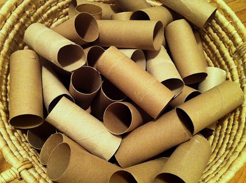 Toilet paper roll art-3