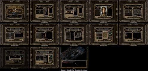 Character Creation in Baldurs Gate 2