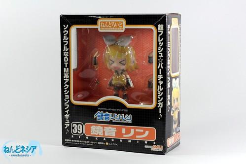 Nendoroid Kagamine Rin's box