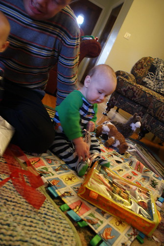 Jack On Christmas Morning