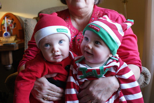 Henny and Jack-jack's Christmas Outfits