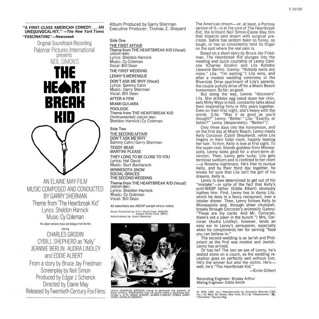Garry Sherman - The Heartbreak Kid