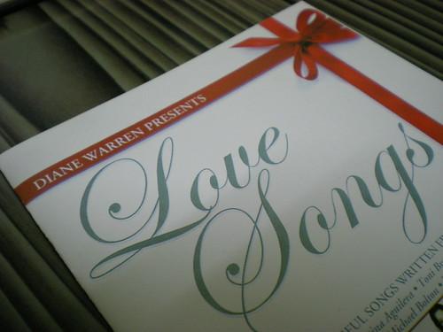Diane Warren's Love Songs cd