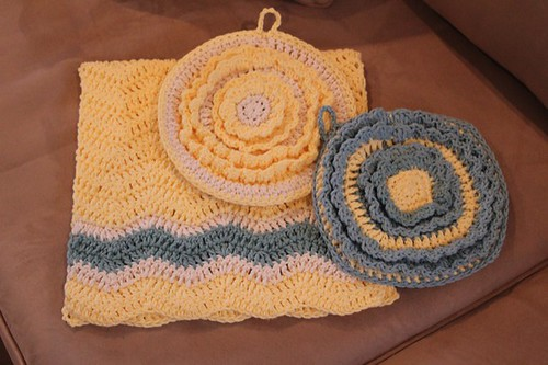 Dishcloths This Blonde Knits Crochets