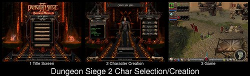 Character Creation in Dungeon Siege 2