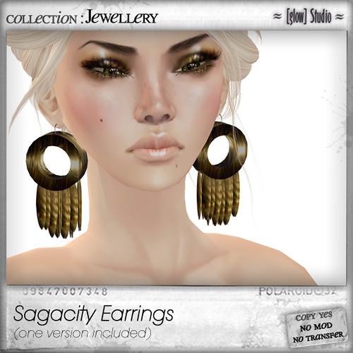 [ glow ] studio Sagacity earrings