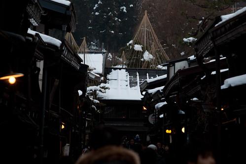 Ciudad antigua en Takayama