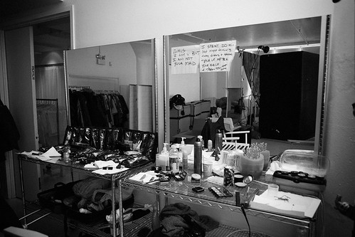 Tina's work station at Location 05, NYC.