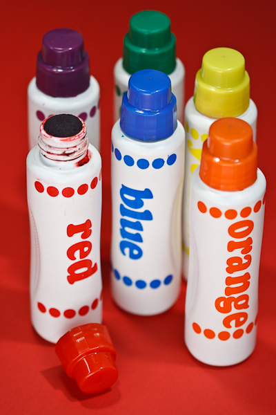 A variety of children's dot paints.