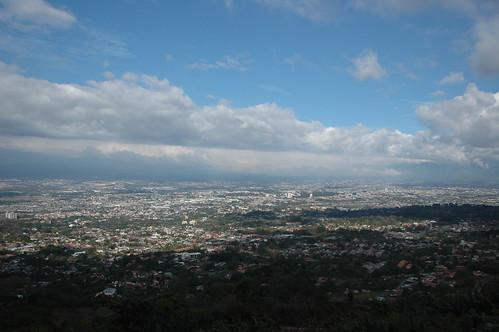 San Jose desde Escazú